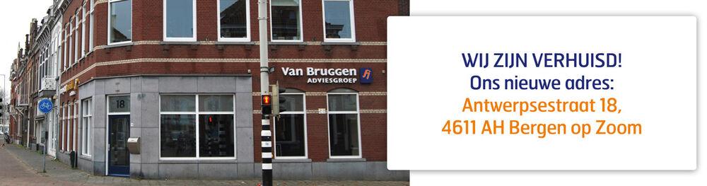 Van Bruggen Adviesgroep Bergen op Zoom is verhuisd!